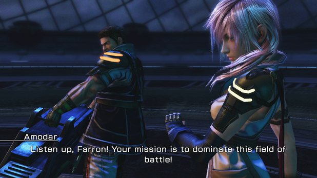 Final Fantasy XIII-2 Opponent: Lightning & Amador DLC
