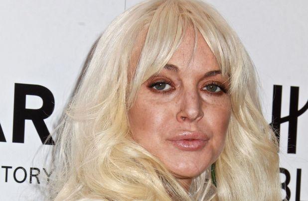 Lindsay Lohan, AmFAR Benefit Gala