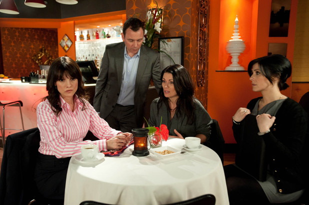 Carla is annoyed with Frank when his interference causes her to lose a new contract with Jenny, a potential client