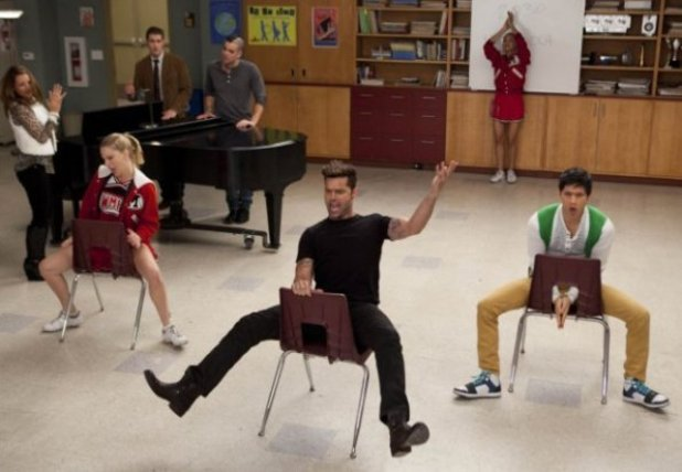 Glee s03e12: The Spanish Teacher
