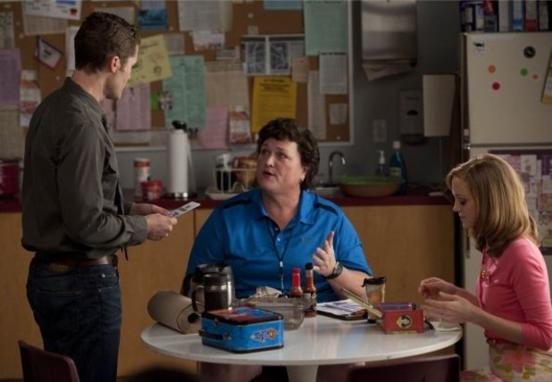 Mr Schuester, Coach Beiste and Emma