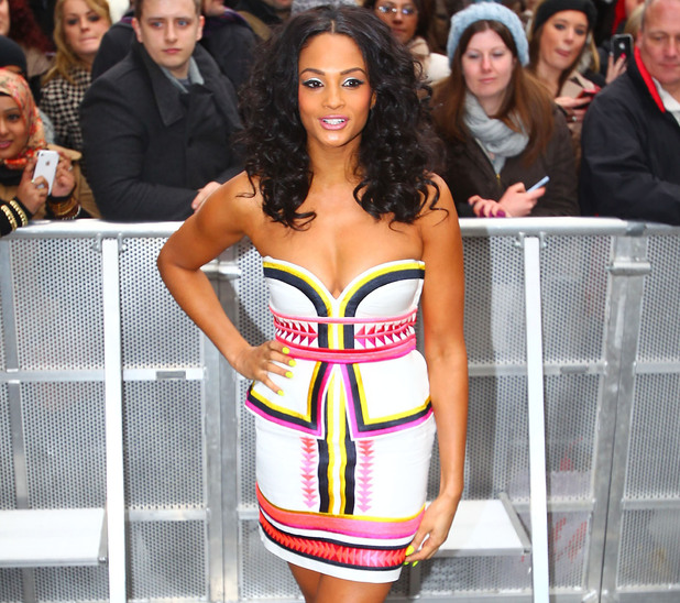 Alesha Dixon at the 'Britain's Got Talent' auditions at the Hammersmith Apollo London, England - 06.02.12 Mandatory Credit: WENN.com