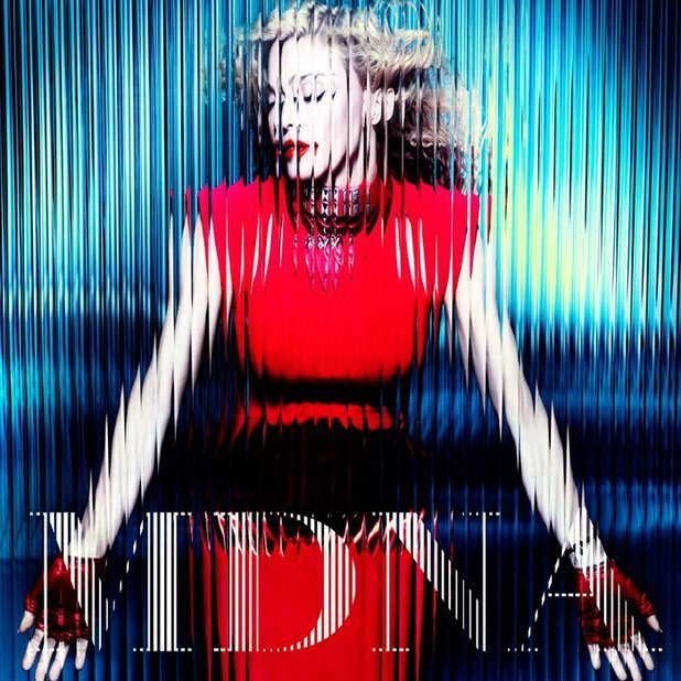Madonna 'MDNA' cover art: 15-track edition