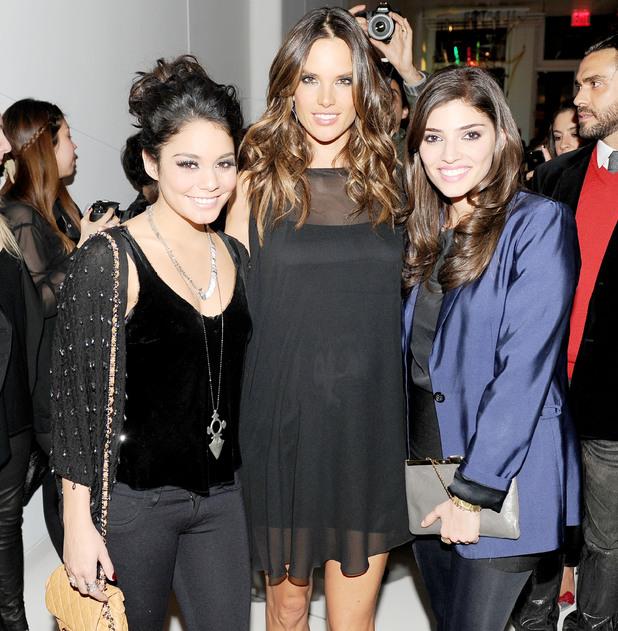 Vanessa Hudgens, Alessandra Ambrosio and Amanda Setton
