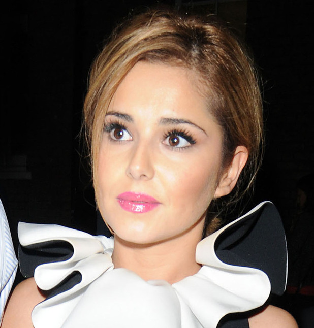 Cheryl Cole arriving at the Ivy Club London