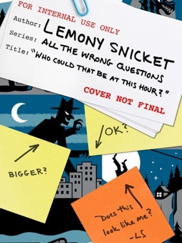 Who Could That Be at This Hour? Lemony Snicket