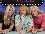 Holly Willoughby, Keith Lemon and Fearne Cotton on 'Celebrity Juice'