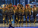 Boadicea performing during the Got To Dance Semi Final Week 2