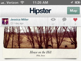 'Hipster' App screenshot
