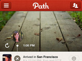 'Path' App screenshot