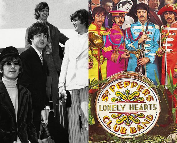 The Beatles, St Pepper's Lonely Hearts Club
