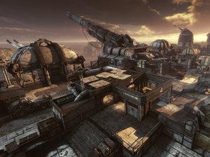 Gears of War 3 'Forces of Nature' DLC: Artillery Flythrough