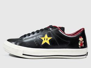Mario themed Converse shoes