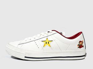 Mario themed Converse shoes