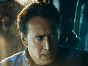 Nicolas Cage as Johnny Blaze in Ghost Rider: Spirit of Vengeance