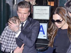 Victoria Beckham, David Beckham, Harper