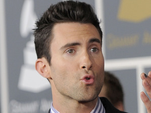 The 54th Annual Grammy Awards: Red Carpet: Adam Levine