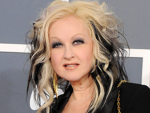 The 54th Annual Grammy Awards: Red Carpet: Cyndi Lauper