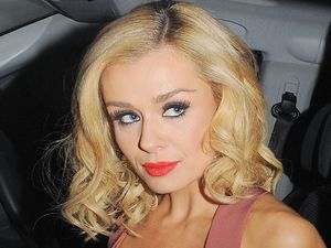Katherine Jenkins out and about in London