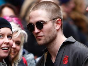 Robert Pattinson arriving for the press conference of 'Bel Ami'