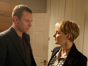 Sally tells Frank she doesn't care about the contract, when Frank loses his temper and tells Sally that the last woman to cross him lived to regret it. Sally is terrified as she realises Frank is admitting to raping Carla