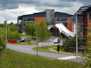 A general view of the headquarters of Vodafone in Newbury, Berkshire