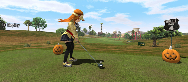 &#39;Everybody&#39;s Golf&#39; screenshot