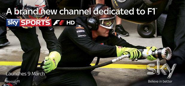 Sky 1 Formula 1 Ad Campaign