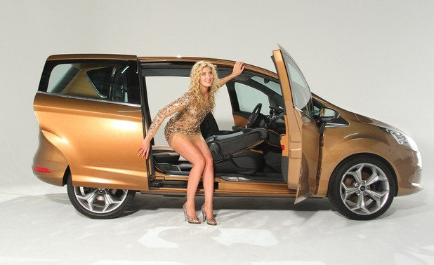 Ford B-Max launch with Made in Chelsea's Francesca Hull