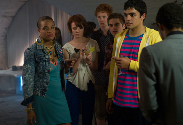Liv (Laya Lewis), Franky (Dakota Blue Richards), Alo (Will Merrick), Alex (Sam Jackson), Nick (Sean Teale)
