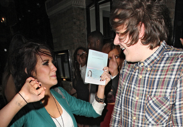 Frankie Cocozza at Anaya nightclub, London