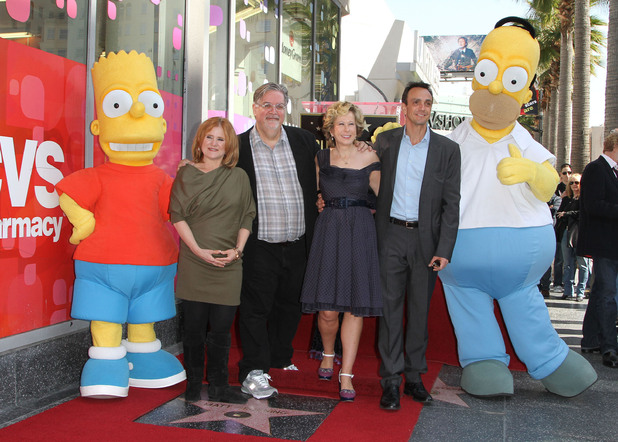 Matt Groening, Hank Azaria, Nancy Cartwright