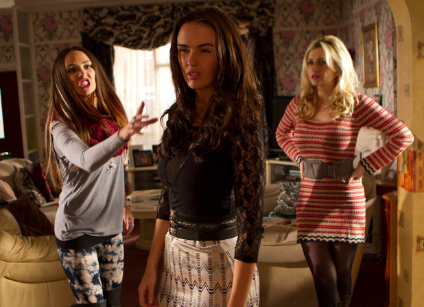 The McQueens turn against Mercedes (Jennifer Metcalfe).