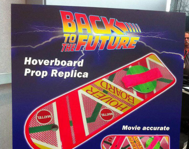 Mattel Back To The Future Hoverboard