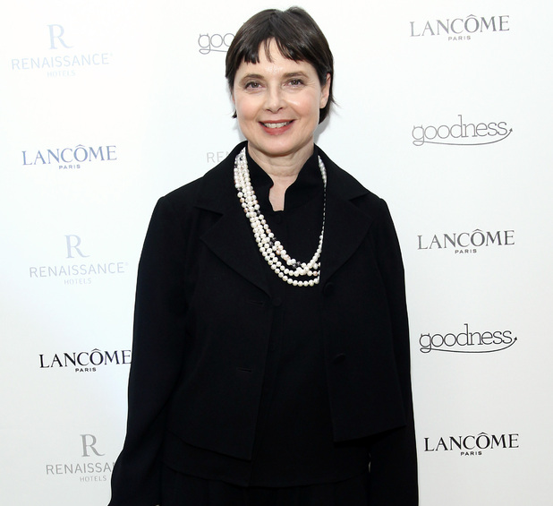 Isabella Rossellini, Fashion Week