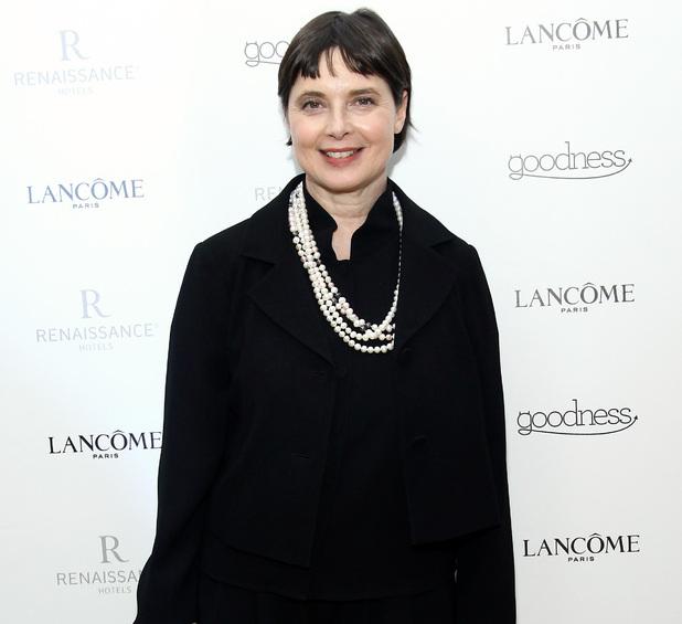 Isabella Rossellini, Fashion Week