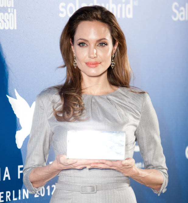 Angelina Jolie, Cinema for Peace Gala