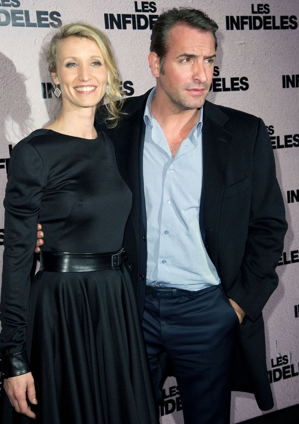 Alexandra Lemmy and Jean Dujardin