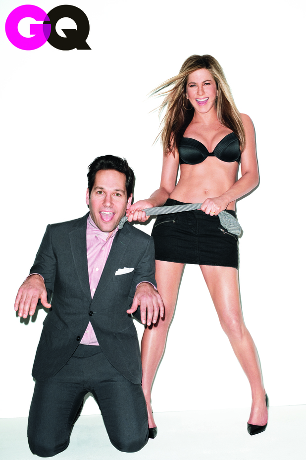 GQ, Jennifer Aniston, Paul Rudd