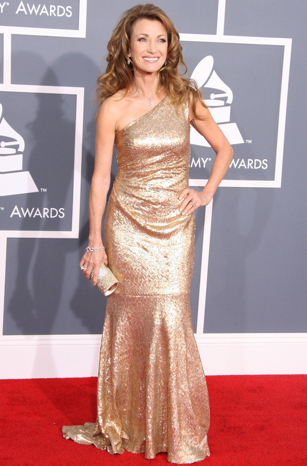 Jane Seymour 54th Annual GRAMMY Awards (The Grammys) - 2012 Arrivals held at the Staples Center Los Angeles