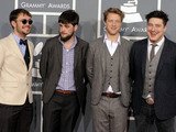 The 54th Annual Grammy Awards: Red Carpet: Mumford & Sons
