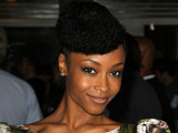 Yaya DaCosta The Premiere of 'In Time' held at Regency Village Theatre - Arrivals Westwood, CaliforniaMandatory Credit: FayesVision/WENN.com