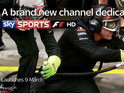 Sky's first dedicated channel to one sport to premiere tonight with The F1 Show.