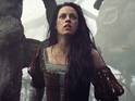 Kristen Stewart talks punching Chris Hemsworth on Snow White and the Huntsman.