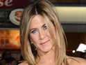"Jennifer Aniston says she thought boyfriend seemed ""dark"" on their first meeting."