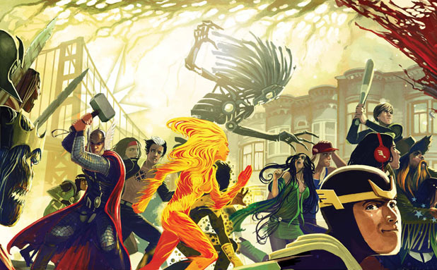 'Journey into Mystery', 'New Mutants' crossover