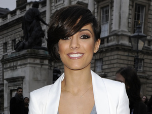Frankie Sandford London Fashion Week - Autumn/Winter 2012 - Aminaka Wilmont - Outside Arrivals London, England
