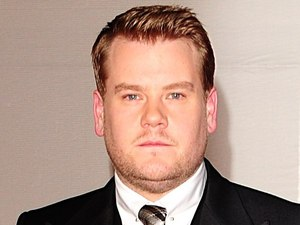 James Corden arriving for the 2012 Brit Awards at The O2 Arena, London