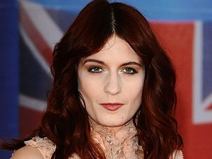 Florence Welch arriving for the 2012 Brit Awards at The O2 Arena, London