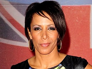 Dame Kelly Holmes arriving for the 2012 Brit Awards at The O2 Arena, London